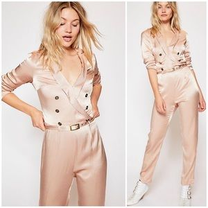 NWT Free People I Am A Women Jumpsuit Size 2